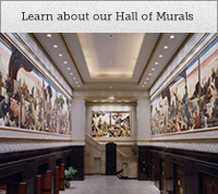 Learn about our Hall of Murals